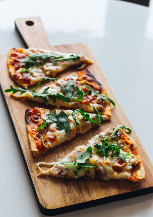 Easy Keto Pizza Recipe Made with Almond Flour